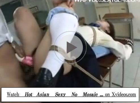 【無修正セックス動画】鞭責めやアナルレイプや二穴責めで泣き叫ぶロープで緊縛された制服姿の女子校生…