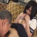【ロリセックス動画】年齢差50オーバー…色白で巨乳のJKの孫に欲情し近親相姦するジジイ