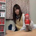 【セックス動画情報】テンガが大好きな童貞クンが同級生のJKに筆下ろししてもらい気持ち良すぎて中出し