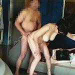 【無修正セックス動画】不倫中の素人中年カップルがラブホテルで思い出づくりの高画質ハメ撮り