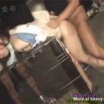 【レイプセックス動画】基地外のレイパー集団がOLを集団強姦…顔を踏みイラマチオや中出しで凌辱