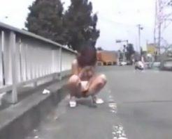 【セックスエロ動画】道路で小便したり全裸でお散歩したり露出大好きなキチ○イ素人お姉さん  セックスエロ動画,未分類