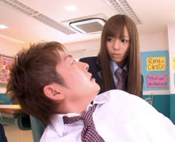 【セックスエロ動画】ツンデレ生徒会長が教室でエロ本見てたクラスメイトとエッチすることにw希志あいの||セックスエロ動画,希志あいの
