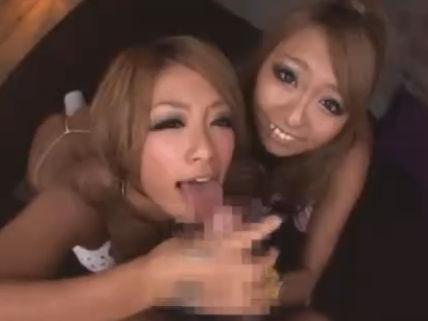 【セックスエロ動画】RUMIKA✕泉麻那の黒ビッチコンビがおっさんいじめてねっとりセクロスww