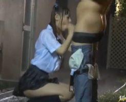 【セックスエロ動画】大雨が降ろうと一度はじめた彼氏との青姦が辞められないツインテJK||セックスエロ動画,未分類