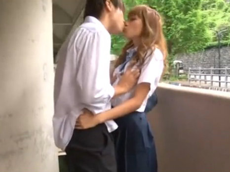 【セックスエロ動画】エッチ大好きなクラスメイトのヤリマンビッチJKと放課後エッチ 桜りお