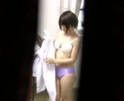 【セックスエロ動画】隠れ巨乳な清純JKを盗撮!脱いだパンツをいただいて帰りますw  セックスエロ動画,JK,巨乳,盗撮