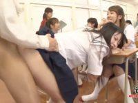 【セックスエロ動画】セックス!セックス!セックス!性的な学校でJKたちがいつでもどこでもSEX