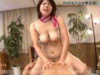 【セックスエロ動画】巨乳美人な熟女(笹山希)のエステティシャンがエロ過ぎる濃厚サービス!