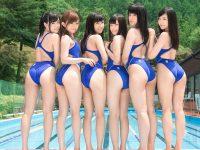 【セックスエロ動画】美少女だらけの水泳部に男子が入部!性に興味深々エロ娘たちとハーレムセクロス!