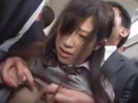【セックスエロ動画】チカンに間違わられた腹いせに、まじめそうなJKを駅のトイレでガチ陵辱するサラリーマン。