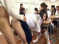 【女子校生セックス動画】金玉汁が空っぽになるまで好き放題に学生や先生を犯せる女子校の日常風景がこちら