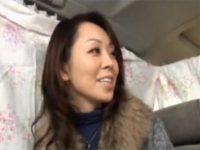 【熟女セックス動画】買い物依存症の四十路マダムにアンケート…謝礼で釣ってホテルで中出し