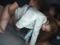 【レイプセックス動画】美人コンパニオンを拉致して輪姦…首絞めに暴行に中出しと何でもありの問題作